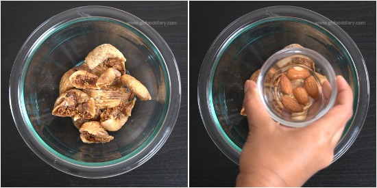 Dried Figs Milkshake Recipe for Babies, Toddlers and Kids - Step 1