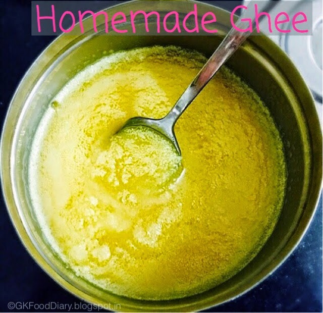 Homemade Ghee Recipe for Babies (From Butter) | How to Make Ghee at Home 1