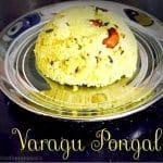 Millet Pongal Recipe (Varagu Pongal / Kodo Millet Kara Pongal)