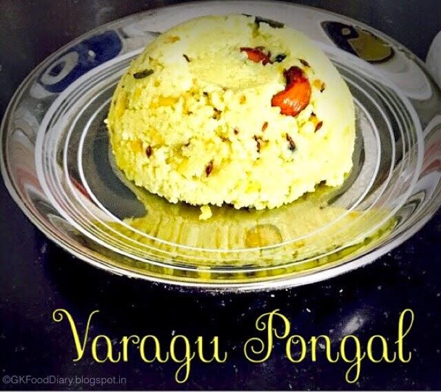 Millet Pongal Recipe (Varagu Pongal / Kodo Millet Kara Pongal) 1