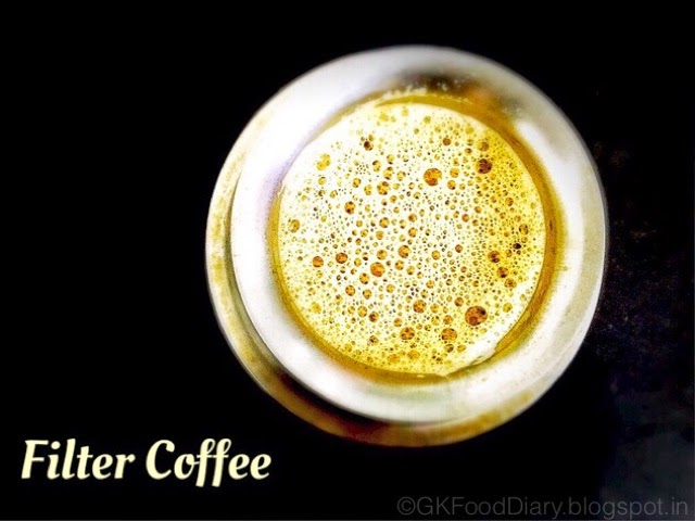 How to Make Filter Coffee - South Indian Filter Coffee Recipe 1