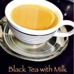 Black Tea with Milk Recipe | How to Make Black Tea with Milk using carafe