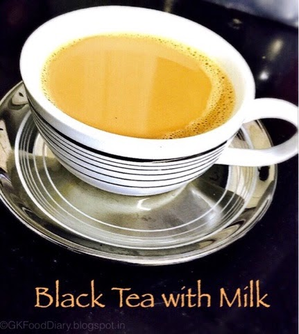 Black Tea with Milk Recipe | How to Make Black Tea with Milk using carafe 1