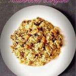Mushroom Biryani South Indian Style ( Kalan Biryani) | How to make Mushroom Biryani 1