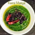 Easy Keerai Masiyal Recipe (Mulai Keerai Kadayal without dal) | SpinachPuree 3