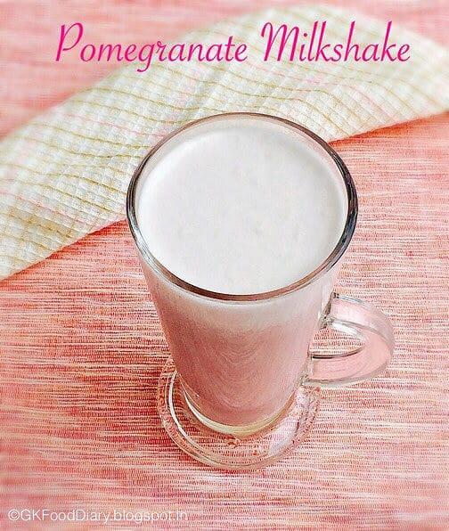 Pomegranate Milkshake Recipe For Toddlers and Kids  | Milkshake Recipes 1