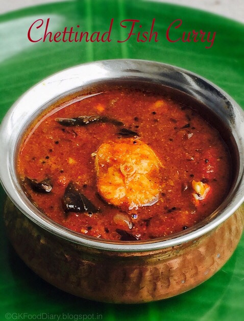 Chettinad Meen Kuzhambu without coconut | Chettinad Fish Curry 1