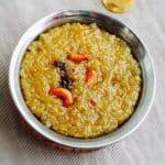 Sakkarai Pongal Recipe | Sweet Pongal Recipe 1
