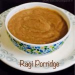 Homemade Ragi Porridge Recipe for Babies | How to make Ragi Porridge for Babies | Baby foods
