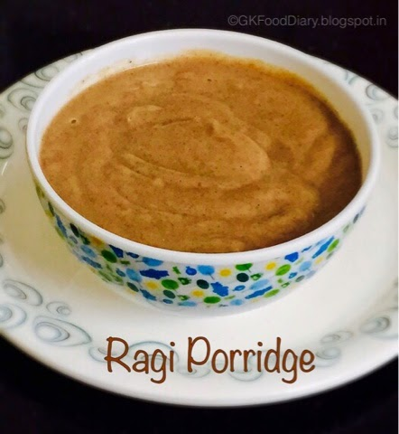Homemade Ragi Porridge Recipe for Babies | How to make Ragi Porridge 2
