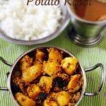 Potato Roast Recipe | Nellai Style Urulai Roast | Stir fry Recipes 1