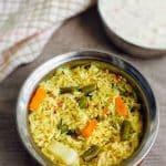Vegetable Biryani Recipe | How to make Vegetable Biryani | RiceVarieties 1