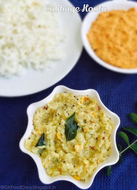 Cabbage Kootu Recipe | Muttakos Kootu | Kootu Recipes 1