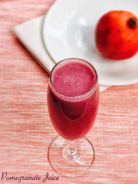Pomegranate juice for Babies | Benefits Of Pomegranates For Babies 1