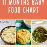 11 Months Baby Food Diet plan