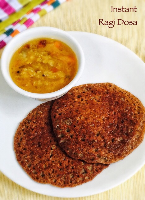 Instant Ragi Dosa Recipe for babies,Toddlers & Kids | Baby Food 1
