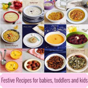 Festive Recipes for babies, toddlers and kids 2