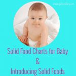 Complete Guide on Solids | Solid Food Charts for 6-12 Months Baby withcollection of baby food recipes & Introducing solids to your Baby