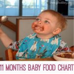 11 Months Baby Food Chart | 11 Months Baby Diet Plan or Meal Plan