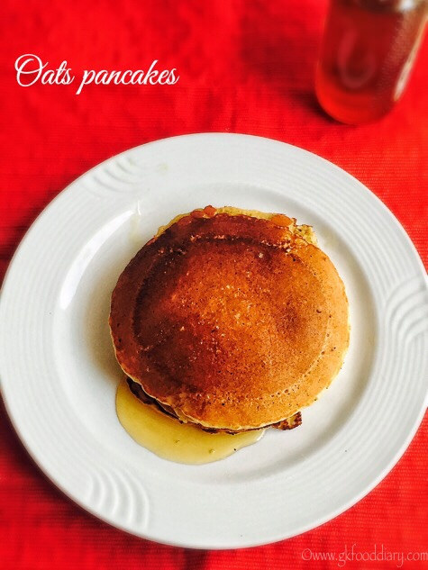 Oats Pancakes Recipe for Toddlers and Kids 1