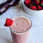 Strawberry Chocolate Milkshake Recipe for Toddlers and Kids | Beverages 1