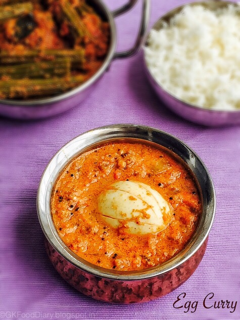 EGG Recipes Collection - Egg Curry