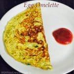 EGG Recipes Collection - Egg Omelete
