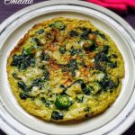 EGG Recipes Collection - Spinach Omelette