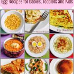 Egg Recipes for Babies, Toddlers and Kids
