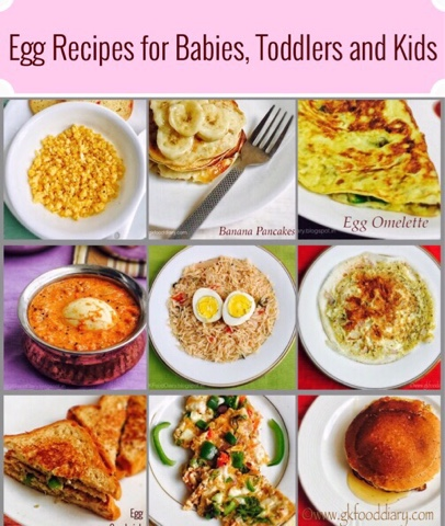 Egg recipes for babies toddlers and kids homemade baby food recipes forumfinder Images