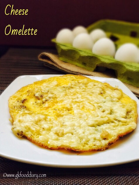 EGG Recipes Collection - cheese Omelette