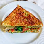 Avocado Sandwich Recipe for Toddlers and Kids | Guacamole Sandwich 1