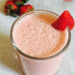 Strawberry Lassi Recipe for Babies, Toddlers and Kids