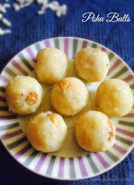 Poha Balls Recipe for Toddlers and Kids 1