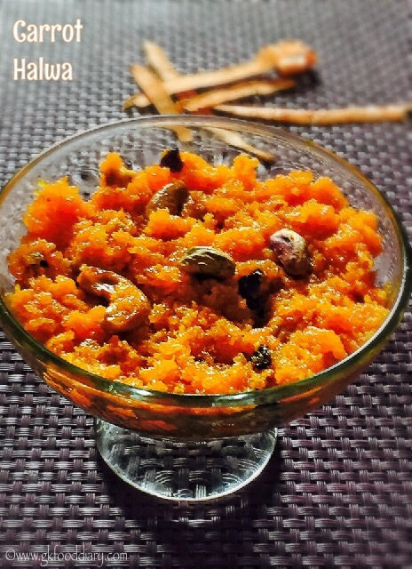 Carrot Halwa Recipe for Toddlers and Kids 1