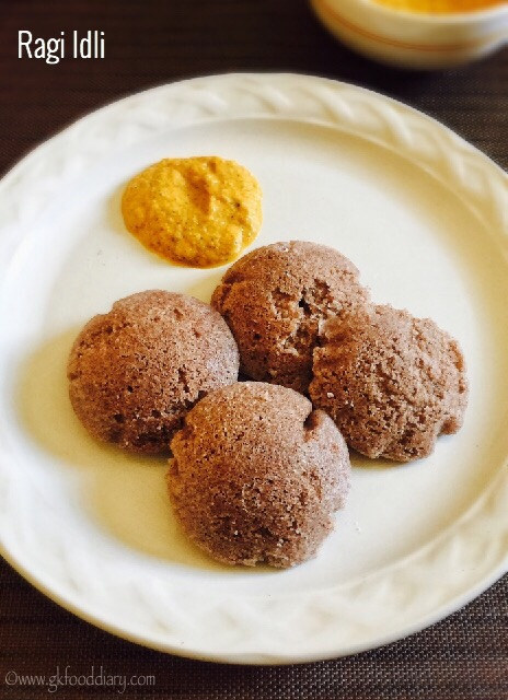 Ragi Idli Dosa Recipe for Babies, Toddlers and Kids 1
