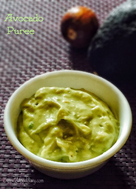 Avocado Puree Recipe for Babies | Baby Purees 1