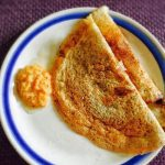 Whole Black Gram Dosa Recipe for Toddlers and Kids | Black Urad Dal Dosa