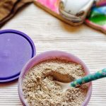 Homemade Sprouted Ragi Powder for Babies Health Mix Powder