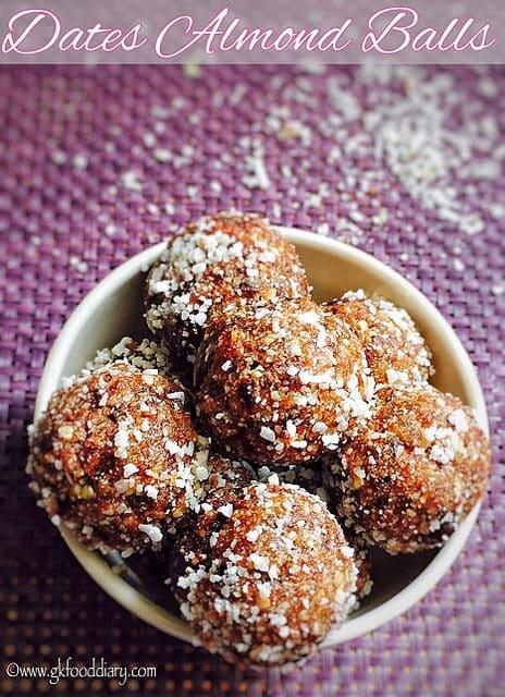 Almond Dates Balls