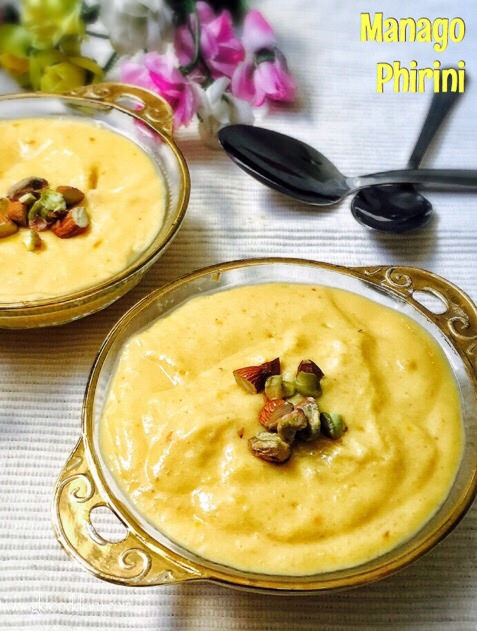 Mango Phirni Recipe for Toddlers and Kids 1