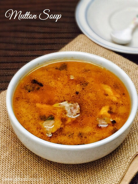 Mutton Soup Recipe for Babies, Toddlers and Kids   Lamb Trotter Soup 1