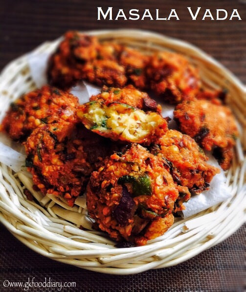 Masala Vada Recipe for Toddlers and Kids 1