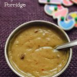 Bajra Porridge Recipe for Babies and Toddlers | Kambu Koozh