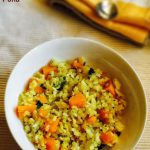 Sweet Potato Poha Recipe for Babies, Toddlers and Kids
