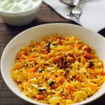 Carrot Rice Recipe for Toddlers and Kids
