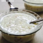 Rice Milk Porridge Recipe for Toddlers and Kids