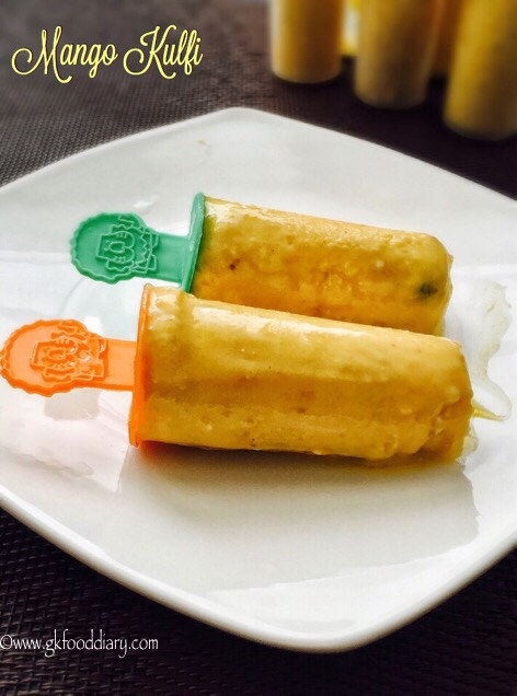 Mango Kulfi Recipe for Toddlers and Kids 1
