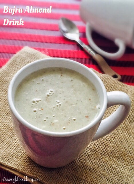 Bajra Badam Drink Recipe for Toddlers and Kids 1