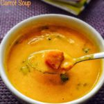 Sweet Potato Carrot Soup Recipe for Babies, Toddlers and Kids